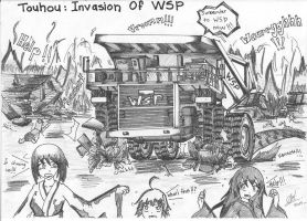 PREVIEW 3: Touhou : Invasion Of WSP by HummerH3