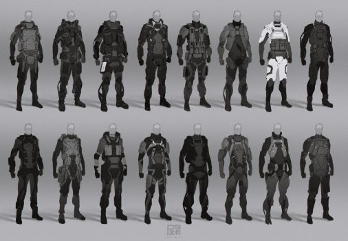 Spec ops suit thumbnails by JSA-Arts
