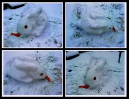 Snow Bunneh by Esempy