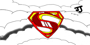Superman Symbol by DinomanInc