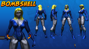 Bombshell Costume ref 02 by Agent-Foo