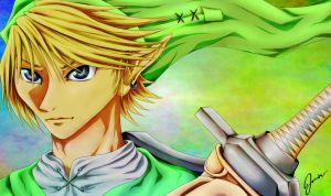 Link: The Hero of Time by AMu23M1