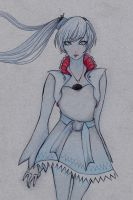 RWBY Weiss by jazz-bell