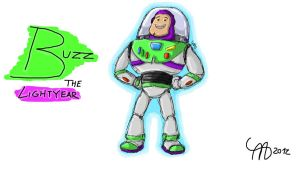 Buzz The Lightyear by Apples-Malus