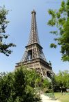 North east corner of the Eiffel Tower by EUtouring