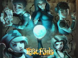 Lost Kids Wallpaper by FelipeCagno