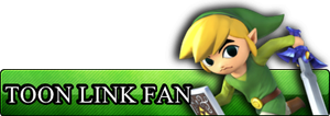 Fan Button: Toon Link by RoxasXIIIAxelVIII