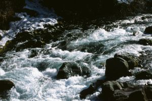 Rapids of the Daiya River by Zeroibis