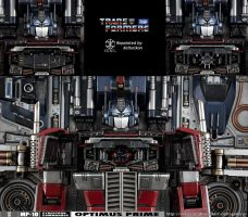 Optimus Prime MP-10 Repaint - The Matrix by xeltecon