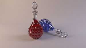 HP and Mana Potions by Miss-Licorice