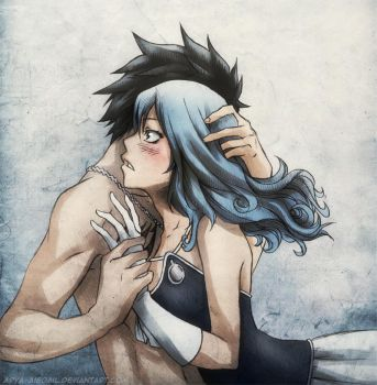 Gruvia - You're mine by Arya-Aiedail
