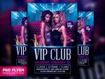 Sexy Girl Night Party Flyer PSD Template by Art-MiraNAX