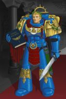 Roboute Guilliman by phil-gre