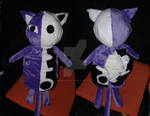 Honekoneko Plushie bag by Dark-Angel15-2010