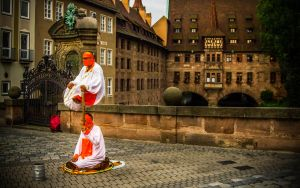 Artists in Nuremberg by Floriarty