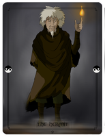 Avatar Tarot - The Hermit by Purple-Twilek