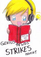 Genius Pewds Strikes Again! by KasumiKetchum