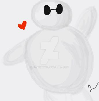 Baymax by jennyh96