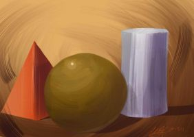 Painting Shapes by waymonds