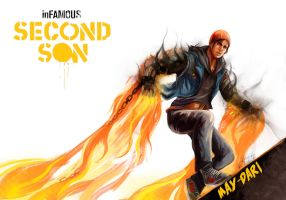 Delsin Rowe by May-dari