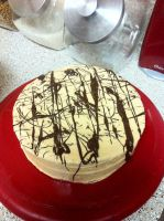 Peanut Butter Cake by Corselia