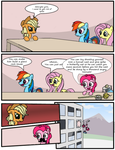 Applejack is not amused by Mrfancy