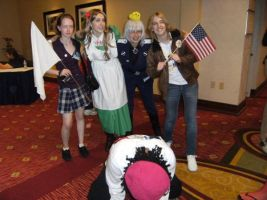 Everyone say 'Hetalia' by SpellboundFox