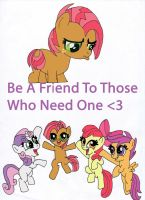 Be a Friend by SkiffyKitten