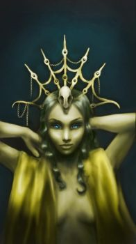 Yellow Queen by MaryCountsTheWalls