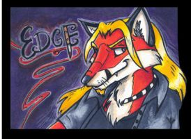 Conbadge -- Edgechan by dani-kitty