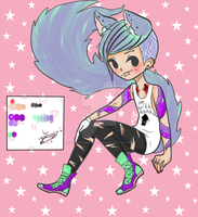 [Auction]  Tattoo artist neko guy [CLOSED] by aUnicornnamedmadison