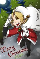 Ed: Merry Christmas 2012!! by c0ralus
