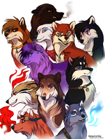 11 Doggies by AgentWhiteHawk