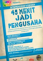 45 Minutes be an Entrepreneur by imaruu