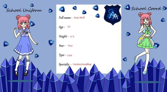 zoeys new application form for SAA by shelly131