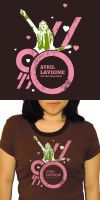 Avril Lavigne Tshirt- design2 by shampooswan