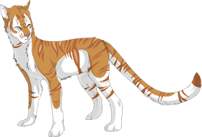 Inori the Golden Tabby Tiger by ChaosAngel1111