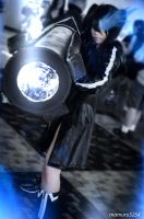 Black Rock Shooter - Rock Canon by eriotiku