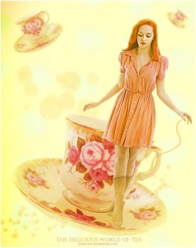 The Delicious World of Tea by Doucesse