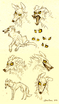 Grigori sketches by CanisAlbus
