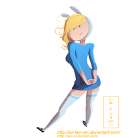 Fionna without lines by ARI-LAIN-ARI