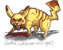 Pikachu what's wrong with you by firedanceryote