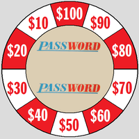 PASSWORD WHEEL MONEY AMOUNTS by JohnnyB1974