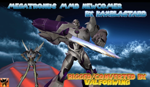 MMD Newcomer Megatron/Megatronus DOWNLOAD LINK by kaxblastard