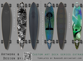 Custom Deck series 1: extras that didn't fit by Frozencapsule