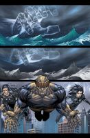 Ultimate Fantastic Four 52 p16 by BlondTheColorist