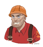 Engineer TF2 by HAZENHYTE