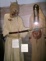 Male and female Tusken Rider by theneopetmaster