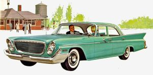 After the age of chrome and fins: 1961 Chrysler by Peterhoff3