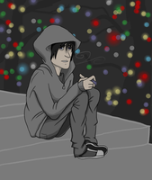Alone on Christmas Eve by TheBritishGeek